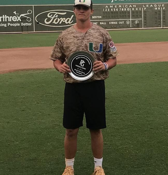 Perfect Game 16U Homerun Derby Champion – Fort Myers, Florida